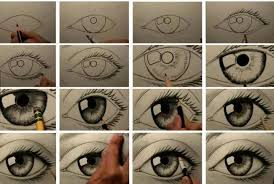 How To Draw Eyes Step By Step How To Draw An Eye Step By Step Imgur