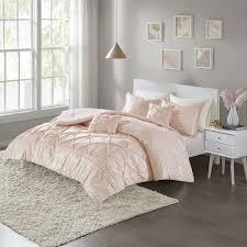 blush gold twin twin xl metallic comforter set