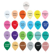 Create Your Own Helium Bouquet 12 Round Confetti 1cm Balloons Cluster Fashion Color