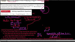 ha2 6 6 4 solving logarithmic equations the strategies