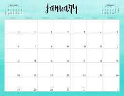 Editable 2015 2020 Calendar Free 2019 Printable Calendars 46 Designs To Choose From