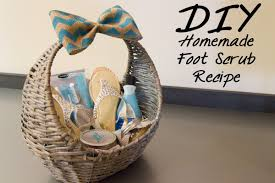 mother s day gift basket ideas 29 vibrant design diy homemade foot scrub recipe baskets fashion