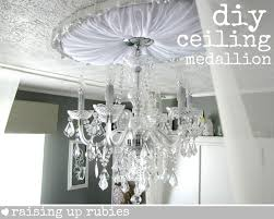 do it yourself upholstered ceiling medallion