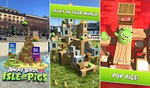 Angry Birds AR: Isle of Pigs brings bird-flinging fun into the real world