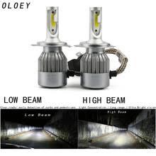 <b>C6</b> H4 <b>Led Headlight</b> Hulbs H7 <b>LED Car</b> Lights H1 H3 880 H11 ...
