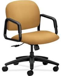 office chair upholstery. Solution - 4000 Series Desk Chair Upholstery: Mustard, Upholstery Material: Tectonic Fabric Office
