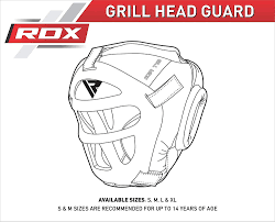 Boxing Head Guard Size Chart Rdx Headguard For Boxing Mma Training Head Guard With