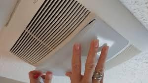 Changing Light Bulb In Broan Fan How To Replace Bulbs In Nutone Ventilation Fan