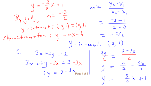 how to find slope and y intercept of an equation calculator