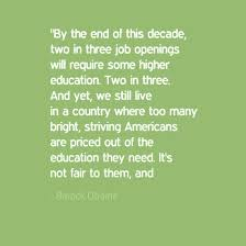 Quotes About Education Impressive The Student Affairs Collective 48 Barack Obama Quotes On Education