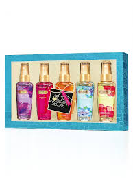 fragrance mist gift set