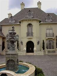 The Ultimate in Luxury House Plans   French Chateaux  Manors and    Luxury French manor style house plan