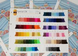 Stylecraft Special Shade Card The Knitting Network