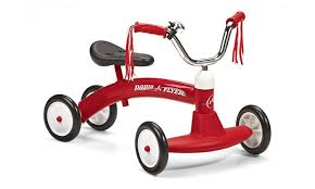 groupon radio flyer radio flyer 20 tricycle wide front wheels for stability groupon