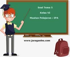 Soal pkn kelas 12 dan kunci jawaban. Soal Tematik Kelas 6 Tema 5 Kompetensi Dasar Ipa Dan Kunci Jawaban Juragan Les