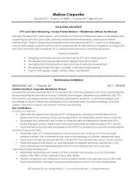 Solution Architect Resume Resume Templates