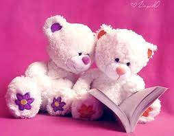 Cute Pink Teddy Bear Wallpapers For ...