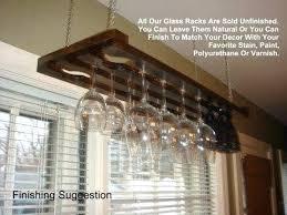 hanging wine glass rack 3 row inch home kitchen ikea