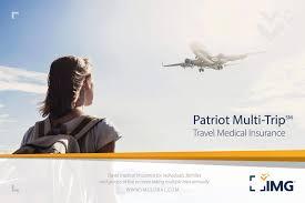patriot multi trip travel cal insurance