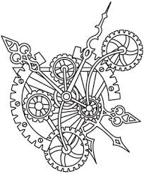 Design Name. Steampunk Alchemy Clockwork