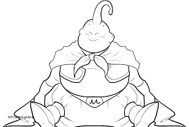 Dragon Ball Z Coloring Pages To Print Dragon Ball Z And Super