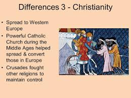 comparative essay diffusion of buddhism christianity and islam  6 differences 3 christianity