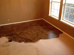 easy diy flooring ideas outstanding diy stained concrete floors cool dark brown photos ideas house