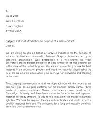 Sample Introductory Letters Introduction Best Business Email Subject Line Examples Sample