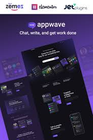 Appwave Innovative And Stylish App Landing Page Wordpress Theme