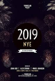 new year s template 032 nye free psd flyer template new years eve impressive