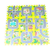 childrens road rug uk play mat city carpets for children car carpet baby toys rugs developing