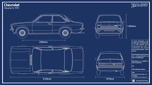 blueprint chevrolet chevette sl 1976 by victorbravodesign dab2zd2 explore retro and more