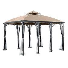 com garden winds replacement canopy for the big lots somerset gazebo 350 garden outdoor