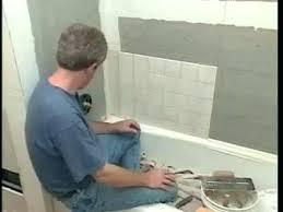 how to install bathtub tiles on walls bathroom wall tile installation popular of wall tile installation