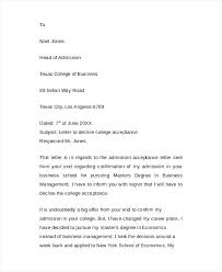 Letter Of Acceptance Sample School Acceptance Letter Sample For Job Offer Luxury Letters Business