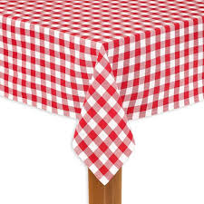 round red 100 cotton table cloth for any table