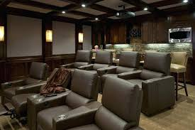 movie room furniture ideas. Theater Room Seating With Bar Home Transitional Multi Level Fabric Panels Movie Furniture Ideas