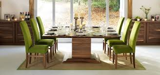 square dining tables in solid oak walnut extending throughout room table for 8 idea 13