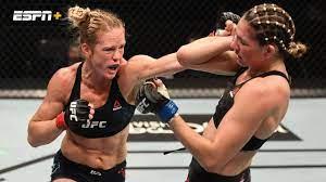 Holly Holm vs. Irene Aldana (UFC Fight ...