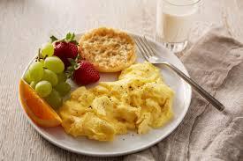 Basic Scrambled Eggs Recipe