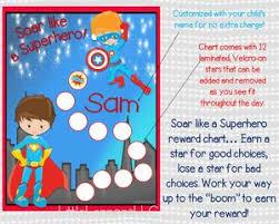 Do Reward Charts Work Superhero Behavioral Chart Personalized Reward Chart Star Chart Laminated Assembled Potty Chart Chore Chart Kids Chart Boys