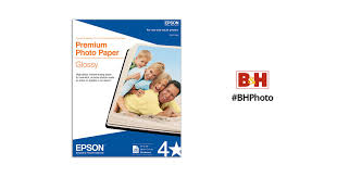 <b>Epson</b> Premium Photo <b>Paper Glossy</b> S041466 B&H Photo Video
