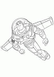 Toy Story Stoere Astronaut Kleurplaten