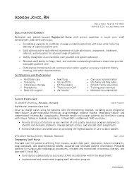 Sample Pediatric Nurse Resume Nursing Resume Format Nursing Resume ...
