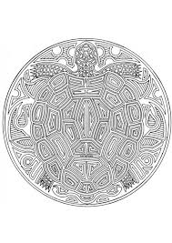 Small Picture coloring pages for adults Coloring page turtle mandala img