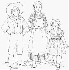 pioneer woman clipart. printable pioneer children clipart woman