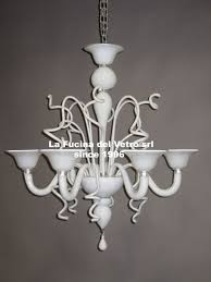 varigola colored modern murano glass chandelier