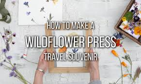 Flower Pressed Paper How To Press Flowers On Paper A Memorable Travel Souvenir