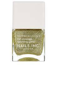 nails inc biodegradable glitter in
