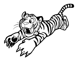 Small Picture 60 Tiger Shape Templates Crafts Colouring Pages Free